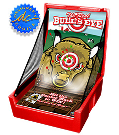 Red Bulls Eye Carnival Case Game Without Legs