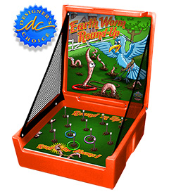 Orange Earthworm Round-Up Carnival Case Game Without Legs
