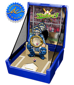 Blue Strike Three Carnival Case Game Without Legs