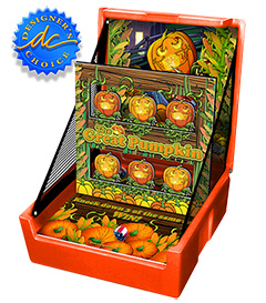 Orange The Great Pumpkin Knockdown Carnival Case Game Without Legs