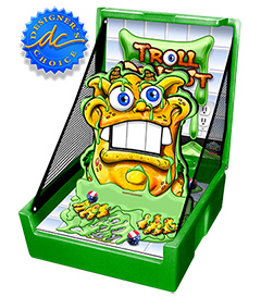 Green Troll Dentist Carnival Case Game Without Legs