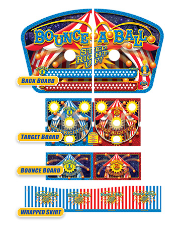 Carnival Bounce A Ball Graphics Package