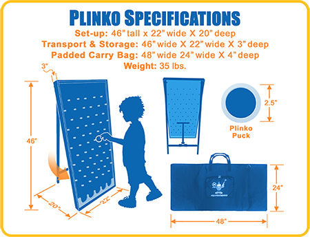 Plinko Game Dimensions