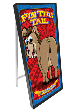 Pin The Tail On The Donkey Standup Carnival Game
